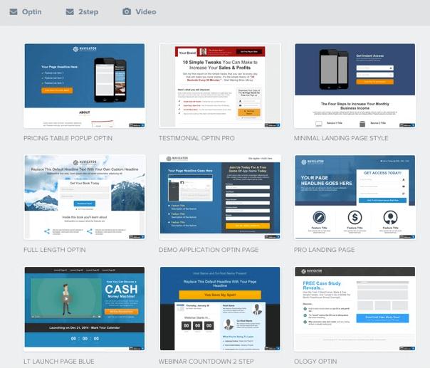 templates Click Funnels